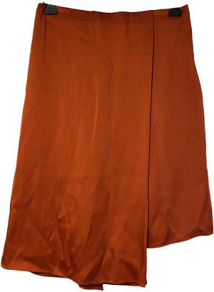 Brunello Cucinelli Orange Synthetic Skirts