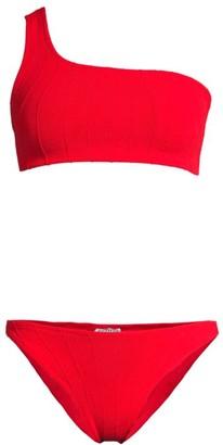 Hunza G Nancy One-Shoulder Bikini Set