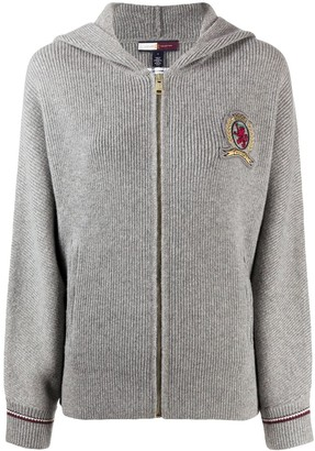 Tommy Hilfiger Logo-Embroidered Hoodie