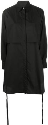MM6 MAISON MARGIELA belted shirt dress