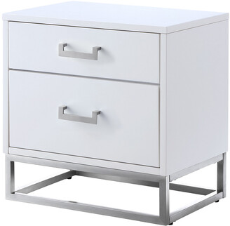 Nicole Miller Perkolli Side Table/Accent Table/Nightstand