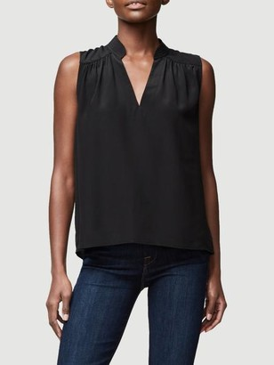 Frame Cali Silk Sleeveless Top