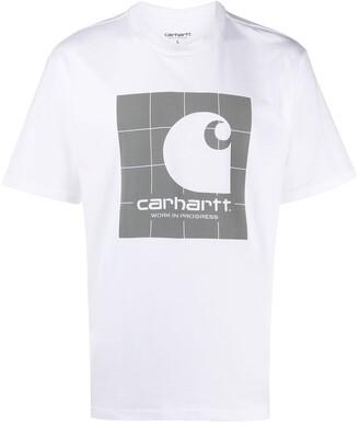 Carhartt Work In Progress logo print T-shirt