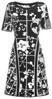 Kenzo Knitted Cotton Jacquard Dress