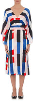 Osman Women's Striped Silk Kimono Dress