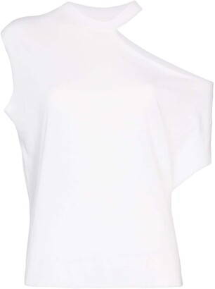 RtA Axel cut-out T-shirt