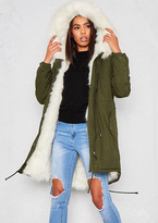 fur lined parka coat - ShopStyle UK