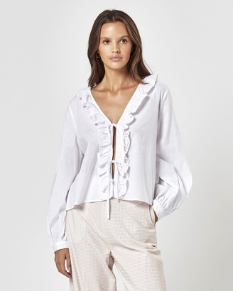 Charlie Holiday Tropaz Blouse