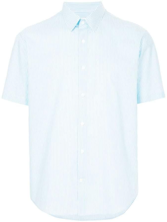 Cerruti plain shortsleeved shirt