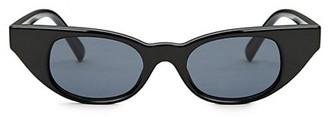 Le Specs Luxe Le Specs x Adam Selman The Breaker 44MM Cat Eye Sunglasses