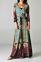 Tua Mix Maxi Dress