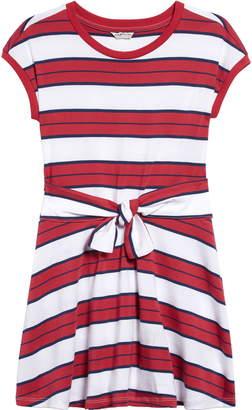 Habitual Front Tie Knit Dress