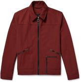 Lanvin Slim-Fit Twill Blouson Jacket