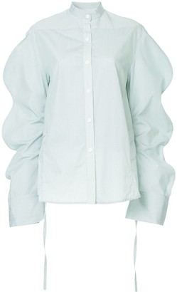 Eudon Choi Oversized Sleeves Shirt