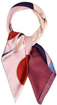 Valentino Full Circle Silk Scarf w/ Tags