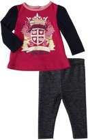Juicy Couture Knit Tunic Set (Baby) - Sweet Raspberry-18-24 Months