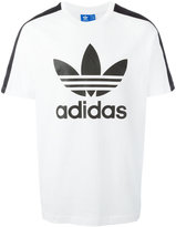 adidas logo print T-shirt - men - Cotton - S