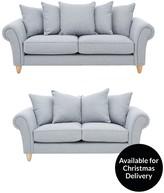 Cavendish Ashurst 3-Seater + 2-Seater Fabric Sofa Set
