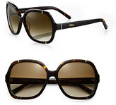 Chloe Hexagonal Sunglasses