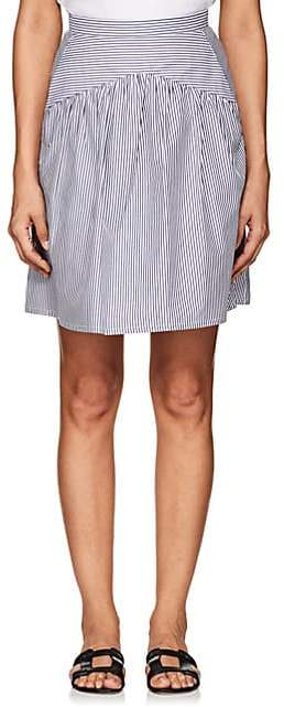 WOMEN`S JUPE STRIPED COTTON SKIRT