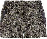 River Island Womens Lime marl tweed shorts