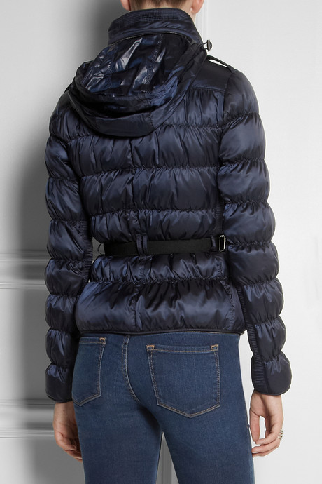 Burberry Quilted shell coat