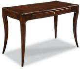 One Kings Lane Garno Writing Desk - Mahogany - frame, mahogany; hardware, nickel