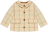 Thumbnail for your product : Gucci Baby check wool coat