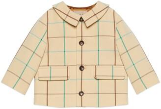 Gucci Baby check wool coat