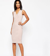 Asos Contoured Pencil Midi Dress