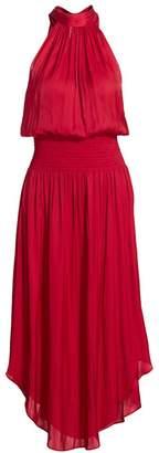 Ramy Brook Bella Blouson Halter Dress