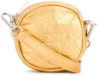 Courreges Crinkle Mini Cross-Body Bag
