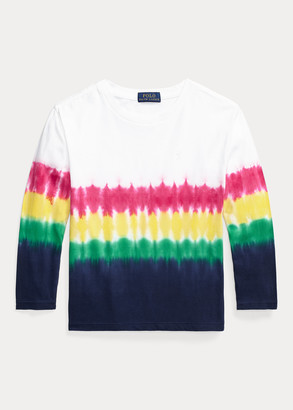 Ralph Lauren Tie-Dye Long-Sleeve Tee