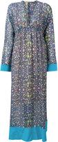 Miahatami - floral print maxi dress - women - Polyester - 40