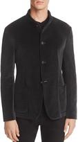 Armani Collezioni Velvet Zigzag Jacket