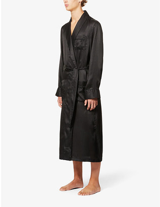 Derek Rose Woburn silk robe