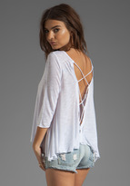 Blue Life Bare Belly Tee