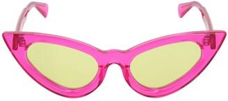 Cat Eye Y3 Neon Pink Sunglasses