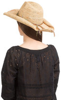 Flora Bella Florabella Raffia Hat with Woven Band