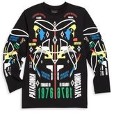 Marcelo Burlon County of Milan Little Boy's & Boy's Graphic Long Sleeve Tee