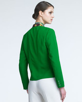 Etro Draped-Collar Jacket
