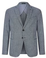Armani Collezioni Cotton And Linen Jacket