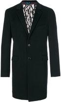 Etro single breasted coat - men - Silk/Cashmere - 48