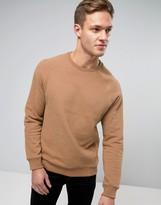 Burton Menswear Camel Sweat