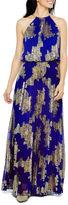 MSK Sleeveless Blouson Maxi Dress