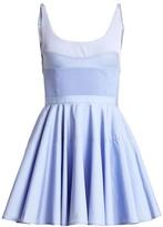 Alexander Wang Ribbed Corset Mini Dress