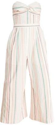 Parker Bohemia Strapless Jumpsuit