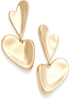 Jenny Bird Layla Heart Drop Earrings