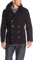 Alpha Industries Men's USN Wool Pea Coat