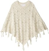 Masala Lola Poncho (Toddler/Kid) - Ivory - Small